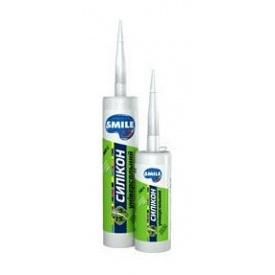 Герметик SMILE силикон универсальный 280 мл белый