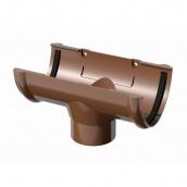 Воронка сливная BRYZA 75/63 мм коричневый