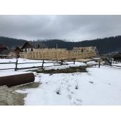 Будівництво дерев'яного каркасного будинку