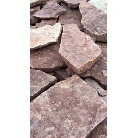 Песчаник Alex Group Теребовлянский плоский 1 см красный