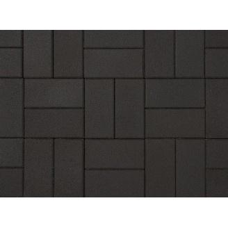Плитка тротуарная Alex Group гладкая 400х400х50 мм черная