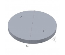Дно для колодца ПН 15 ТМ «Бетон от Ковальской» 2030х120 мм