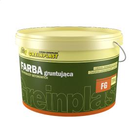 Грунтовочная краска для бетонных оснований Greinplast FG 10 кг
