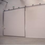 Подвесные ворота Ryterna RAL 9016