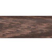 Плинтус-короб TIS с прорезиненными краями 56х18 мм 2,5 м венге