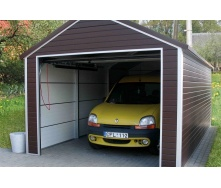 Строительство модульного гаража из секционных панелей