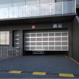 Перфоровані ангарні ворота Ryterna TLT