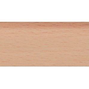 Плинтус-короб TIS с прорезиненными краями 56х18 мм 2,5 м бук светлый