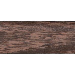 Плінтус-короб TIS з прогумованими краями 56х18 мм 2,5 м венге
