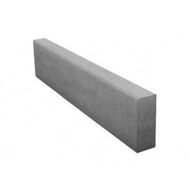 Бордюр тротуарный 80х200х1000 мм серый