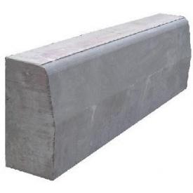 Бордюр дорожній 150х300х1000 мм сірий
