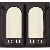 Дверца камина SVT 402 2-x створчатая с экраном