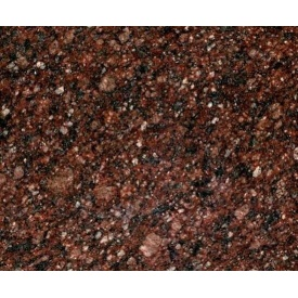 Гранитная плитка Токовского полированная 300х600х20 мм красная