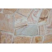 Облицовочный камень Сланец не окантованный колотый бежевый