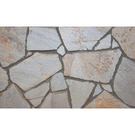 Облицовочный камень Сланец не окантованный колотый серый