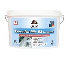 Краска Dufa Fassaden Mix B3 Transparent 10 л прозрачный