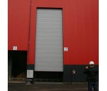 Ангарні ворота Ryterna RIB 13000x3500 мм RAL 9007