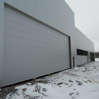 Ангарні ворота Ryterna RIB 15000x6000 мм RAL 9006