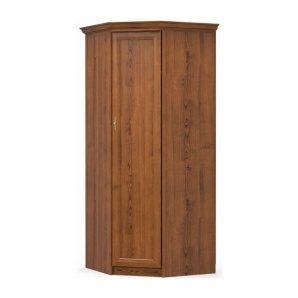 Угловой шкаф Мебель-Сервис Даллас 880х2160х880 мм каштан