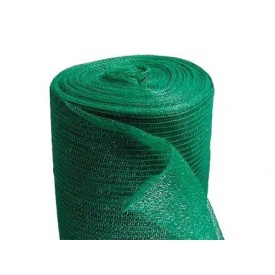 Сеть затеняющая Гарант 6,4х100 м 60% затенения черно-зеленая