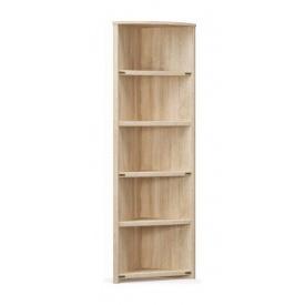 Стелаж кутовий Мебель-Сервіс Валенсія 2086х520х520 мм самоа