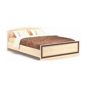 Кровать Мебель-Сервис Дисней Ламель 140 1476х2064х785 мм дуб светлый