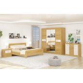 Спальня Мебель-Сервис Квадро 4Д Rising Elm