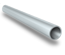 Алюминиевая труба круглая AS 10x1 мм