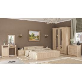 Спальня Мебель-Сервис Соната 4Д дуб самоа