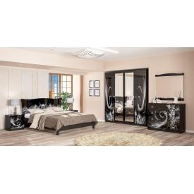 Спальня Мебель-Сервис Ева 4Д венге темный