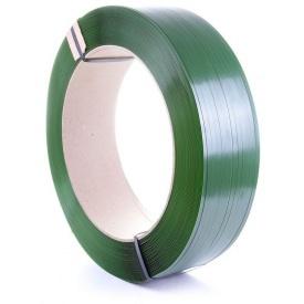 Лента упаковочная 9х0,5 мм зеленая
