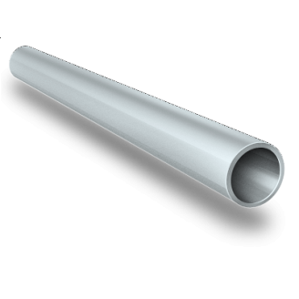 Алюминиевая труба круглая AS 8x1 мм