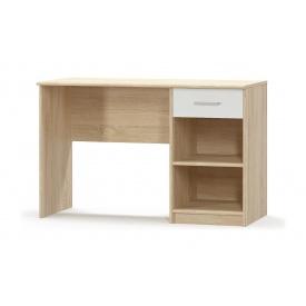 Стол письменный Мебель-Сервис Типс 1Ш 1200х770х540 мм дуб самоа/белый матовый