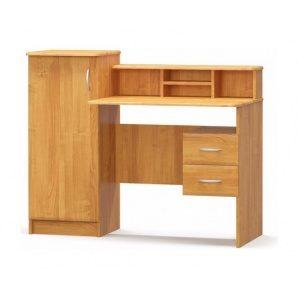 Письменный стол Мебель-Сервис Пинокио МДФ 1210х980х580 мм ольха
