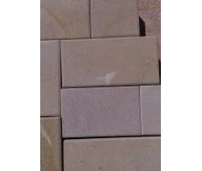 Гладкий натуральный камень песчаник 30 МПа