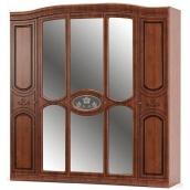 Шкаф Мебель-Сервис Милано 5Д 2150х2265х560 мм вишня
