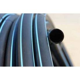 Труба полиэтиленовая 6 атмосфер 25х1,8 мм черная