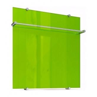Полотенцесушитель Теплолюкс Flora стеклянный электрический 60х60 см зеленый