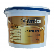 Кварц-грунт ArtEco Art-16 10 л белый