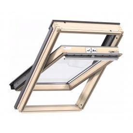 Мансардное окно VELUX Стандарт Плюс GLL 1061 MK04 деревянное двухкамерное 780х980 мм