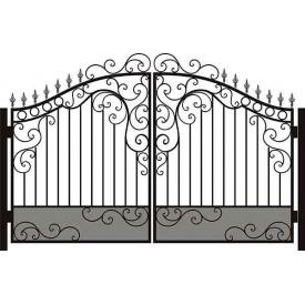 Ковані ворота металеві