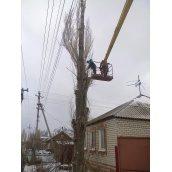 Видалення дерева цілком з використанням природного нахилу