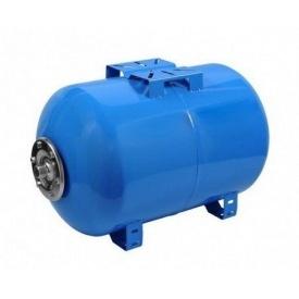 Гидроаккумулятор горизонтальный Aquasystem VAO 80 черная сталь 80 л 410х715 мм