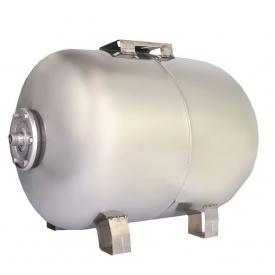 Гидроаккумулятор горизонтальный Euroaqua HT50ss нержавеющая сталь 50 л 510х330х360 мм