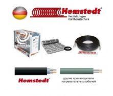 Одножильний кабель кабель Hemstedt для обігріву покрівлі водостоків