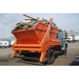 Вывоз строительного мусора машиной КРАЗ 16 м3 22 т