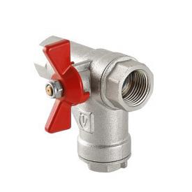 Кран кульовий з вбудованим прямим фільтром VALTEC VT.294