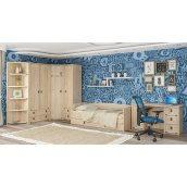 Детская спальня Мебель-Сервис Валенсия дуб Самоа