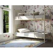 Двухъярусная кровать Металл-Дизайн Диана 1900х800 белая