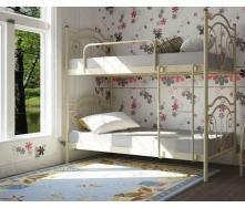 Двох'ярусне ліжко Метал-Дизайн Діана 1900х800 біла